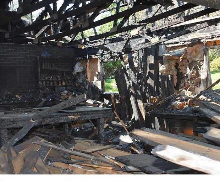 Home Damaged By Fire