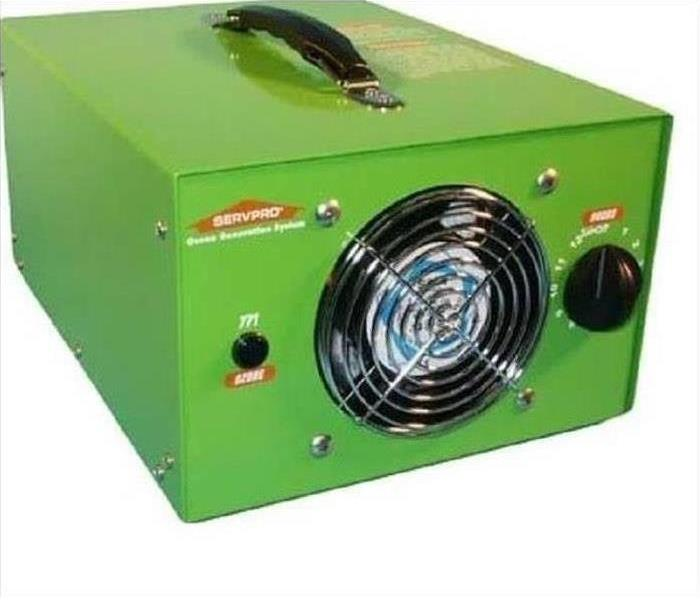 SERVPRO Ozone Generating Equipment
